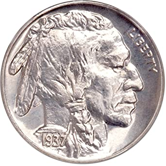 VG  FREE SHIPPING 1937-S Buffalo Nickel G