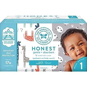 The Honest Company Club Box Pandas & Safari