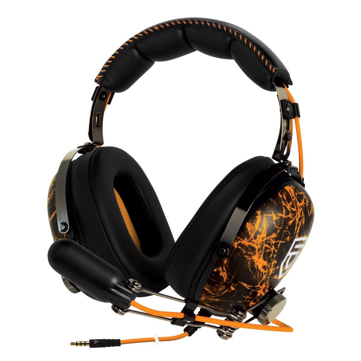 Arctic P533 Racing - Casque PC Noir et Rouge - Accessoire pour jeu - Microphone intégré - Basses fortes et aigus nets - Etanchéité sonore excellente