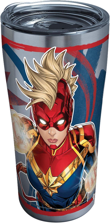 Tervis Captain Marvel Insulated Tumbler, 20oz - Stainless Steel, Mohawk