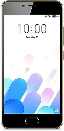 Meizu M5c - Smartphone (2 GB de RAM,16 GB ROM) Color Dorado y ...