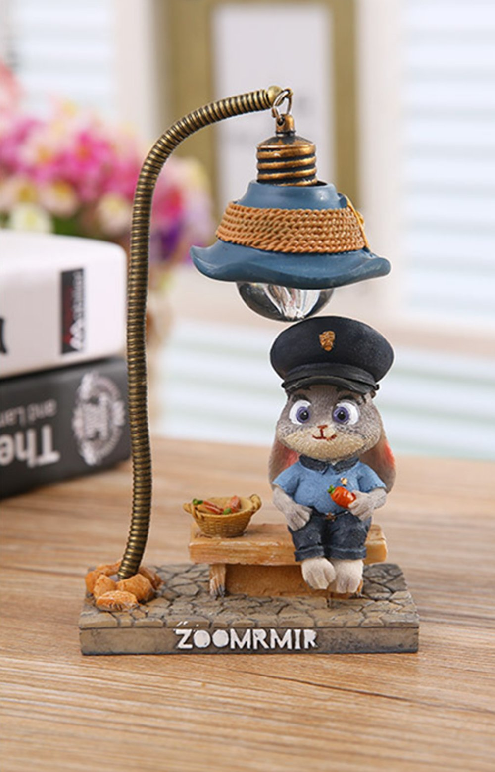 YOURNELO Decorative Cute Cartoon Disney Zootopia Judy Nick Desk Ornaments LED Night Light Gift (Judy) by YOURNELO