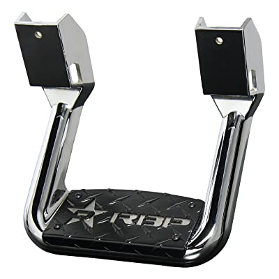 RBP RBP-R1S1002R Chrome Universal Truck Aluminum Side Hoop Step 1 Piece Includes Mounting Brackets - Fits Various Trucks from Chevy (Chevrolet), Ford, Toyota, GMC, Dodge RAM and Jeep: Automotive