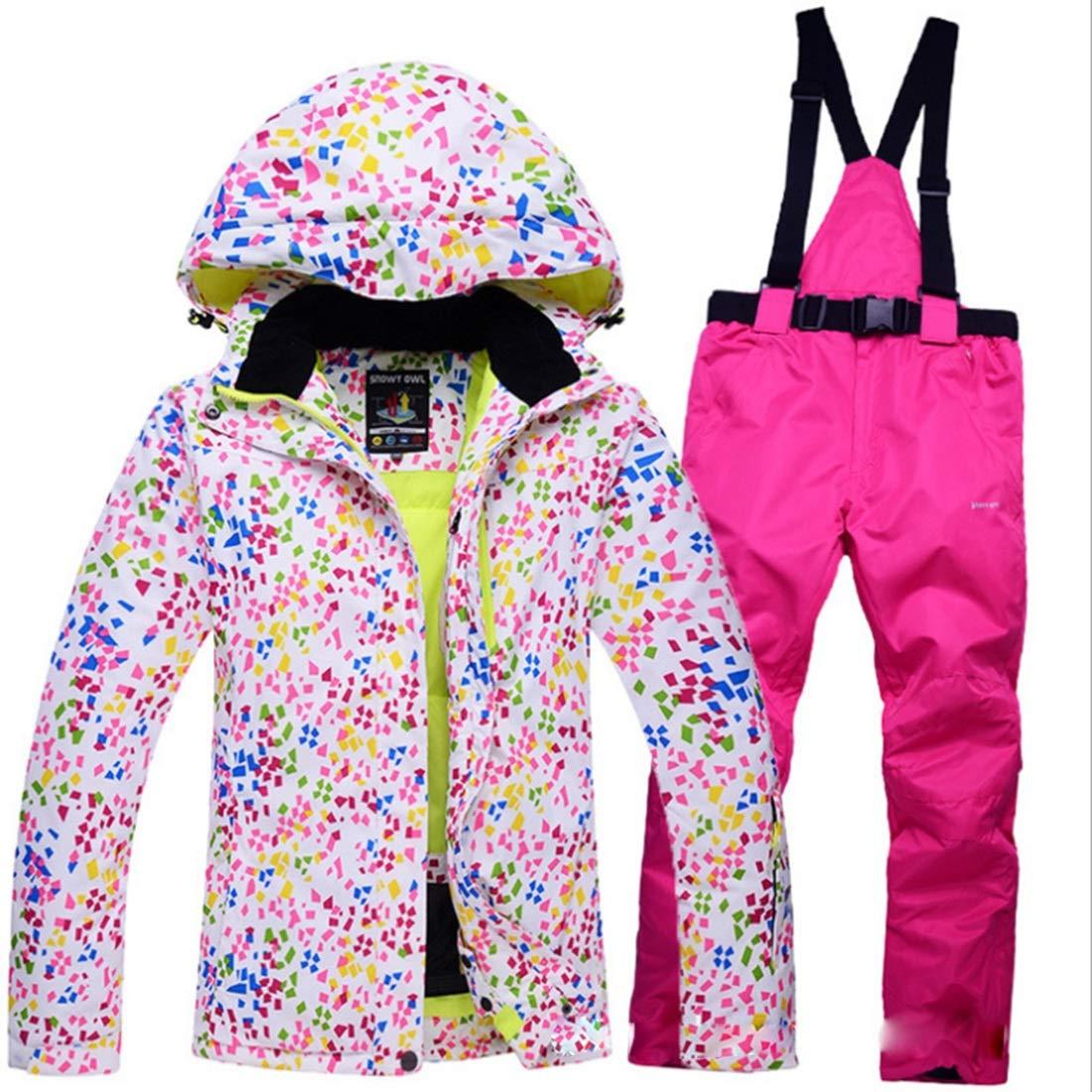 2 RABILTY Women's Ski Jacket High Windproof Waterproof Technology Snow Jacket