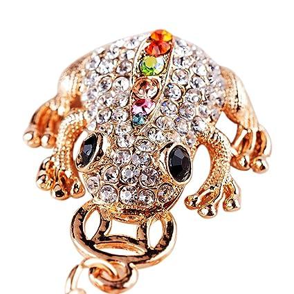 Amazon.com  Shuohu Diamond Keychain Good Luck 3532b5f397