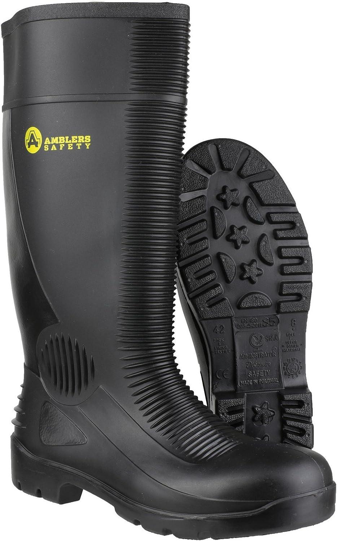 Amblers Mens FS100 Steel Toe /& Midsole Safety Wellington Boot S5-SRA
