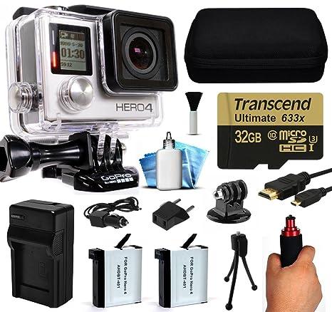 GoPro Hero 4 Hero4 Silver Edition cámara 4 K Acción ...