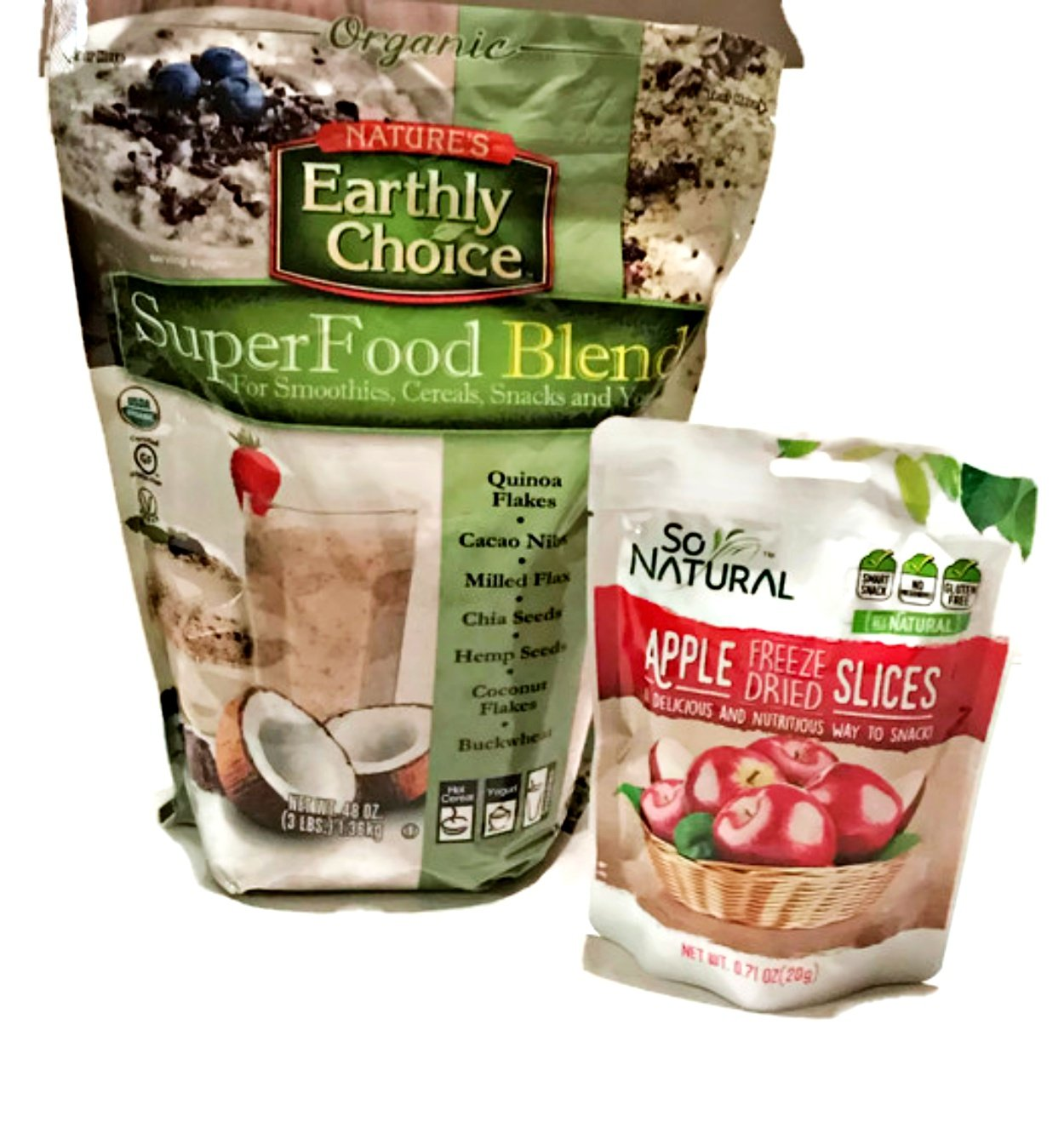 VALUE Size Organic Nature's Earthly Choice SuperFood Blend 3LBS (48oz)