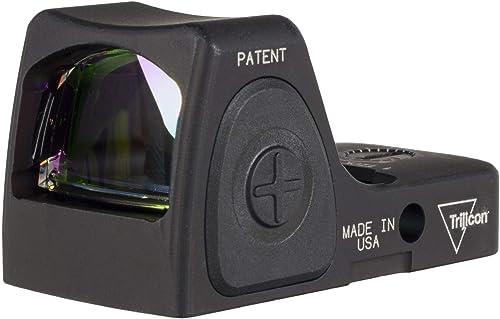 Trijicon RMRcc Sight Adjustable LED Red Dot, 3.25 MOA, Black, 3100001