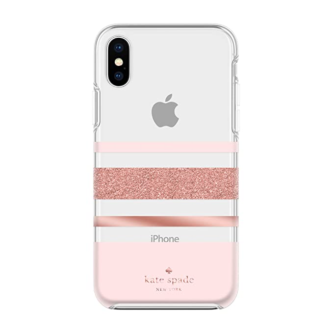 low priced 71c2c 04342 Kate Spade New York Phone Case For Apple iPhone X and 2018 iPhone XS  Protective Phone Cases with Slim Design Drop Protection and Floral Print,  ...
