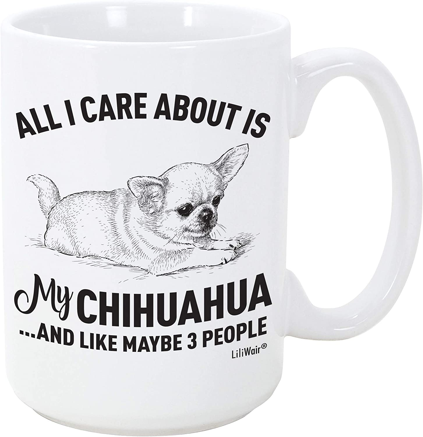 Chihuahua Mom Gifts Mugs For Christmas Women Men Dad Decor Lover Decorations Stuff I Love Chihuahua Coffee Accessories Talking Funny Birthday Gift Home Supplies Products Dog Coffee Cup Mugs