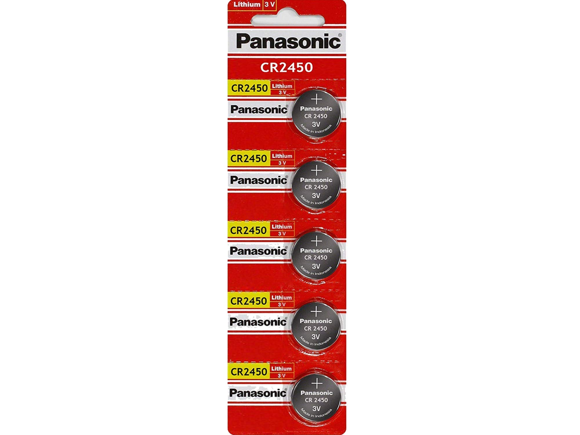 Amazon Com Panasonic Cr2032 Battery Lithium Cr 2032 3v
