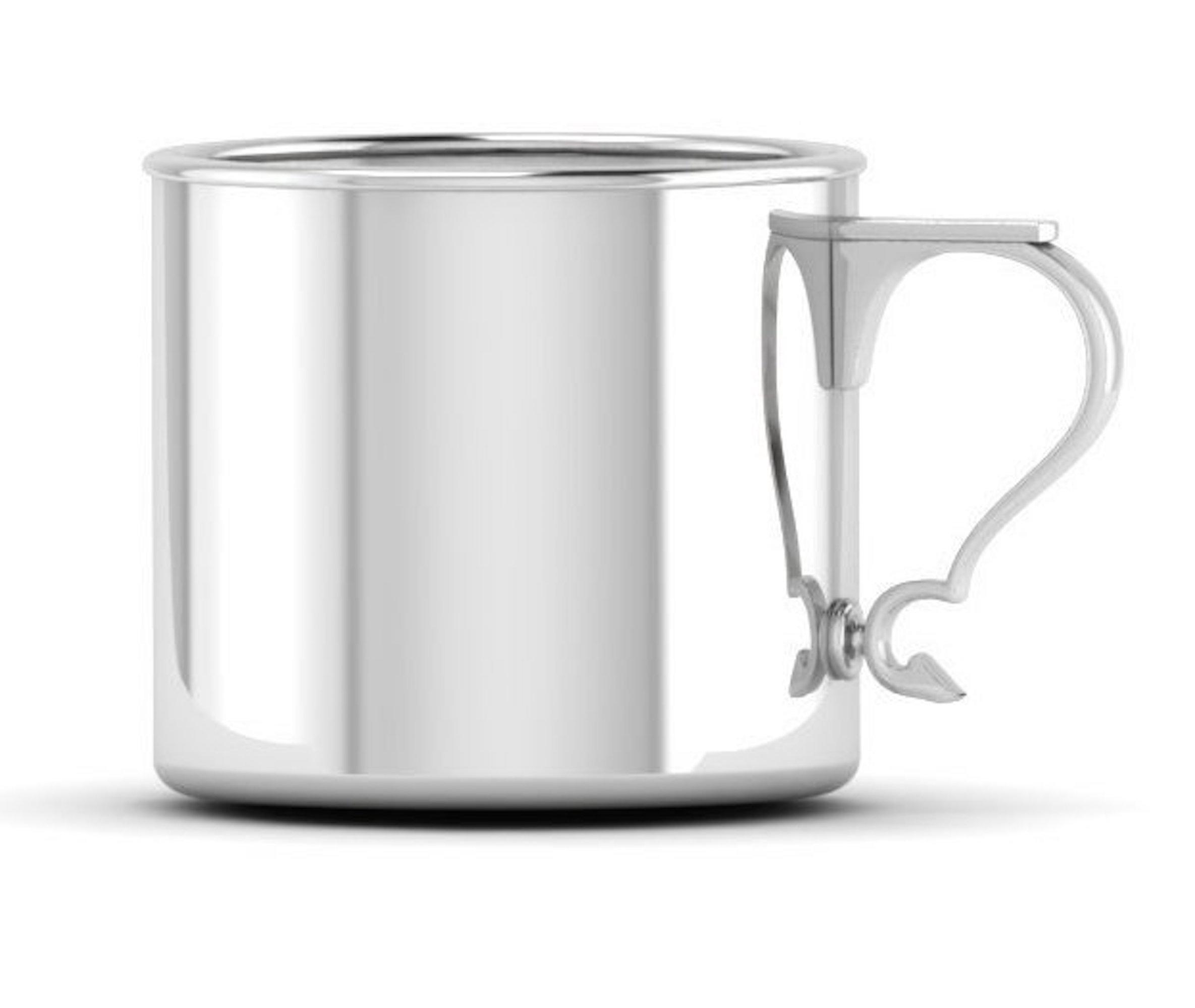Krysaliis Sterling Silver 5 Ounce Modern Handle Cup