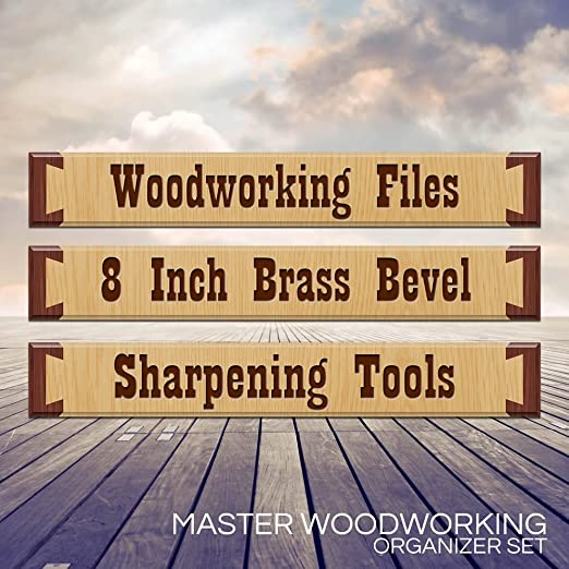 "Tool Box Labels for the craftsman ""Master Woodworker Organizer Set"" - worlds most complete set of custom cabinet labels for wood working tools - for ..."
