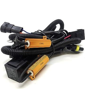 O-NEX HID Relay Harness 9006 9005 9145 60A 12V 35W/55W Heavy Duty