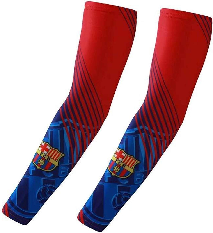 DMASZYHGSG Football Club Youth Kids Compression Arm Sleeves 1 Pair