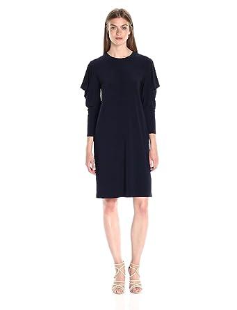Norma Kamali Women s Wing Sleeve Dress at Amazon Women s Clothing store  cae42c078