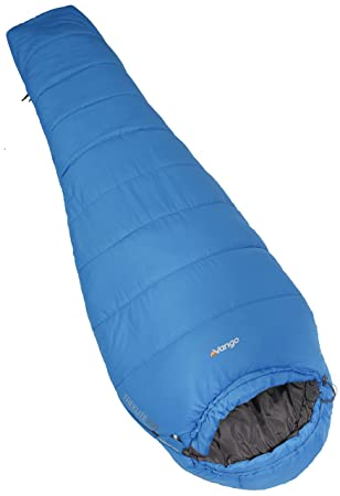 Vango Unisex Treklite Ligero Saco de Dormir, Color Azul Imperial: Amazon.es: Deportes y aire libre