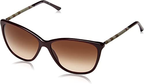 BURBERRY Damen BE 4117 Wayfarer Sonnenbrille, 326513