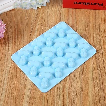 igemy Cubito de hielo PENE bandeja para horno molde para gelatina Happy despedida de soltera,