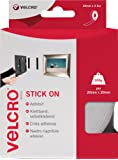 VELCRO Brand Stick On Tape - 20mm x 2.5m, White