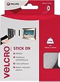 VELCRO Brand Stick On Tape - 20mm x 2.5m, White