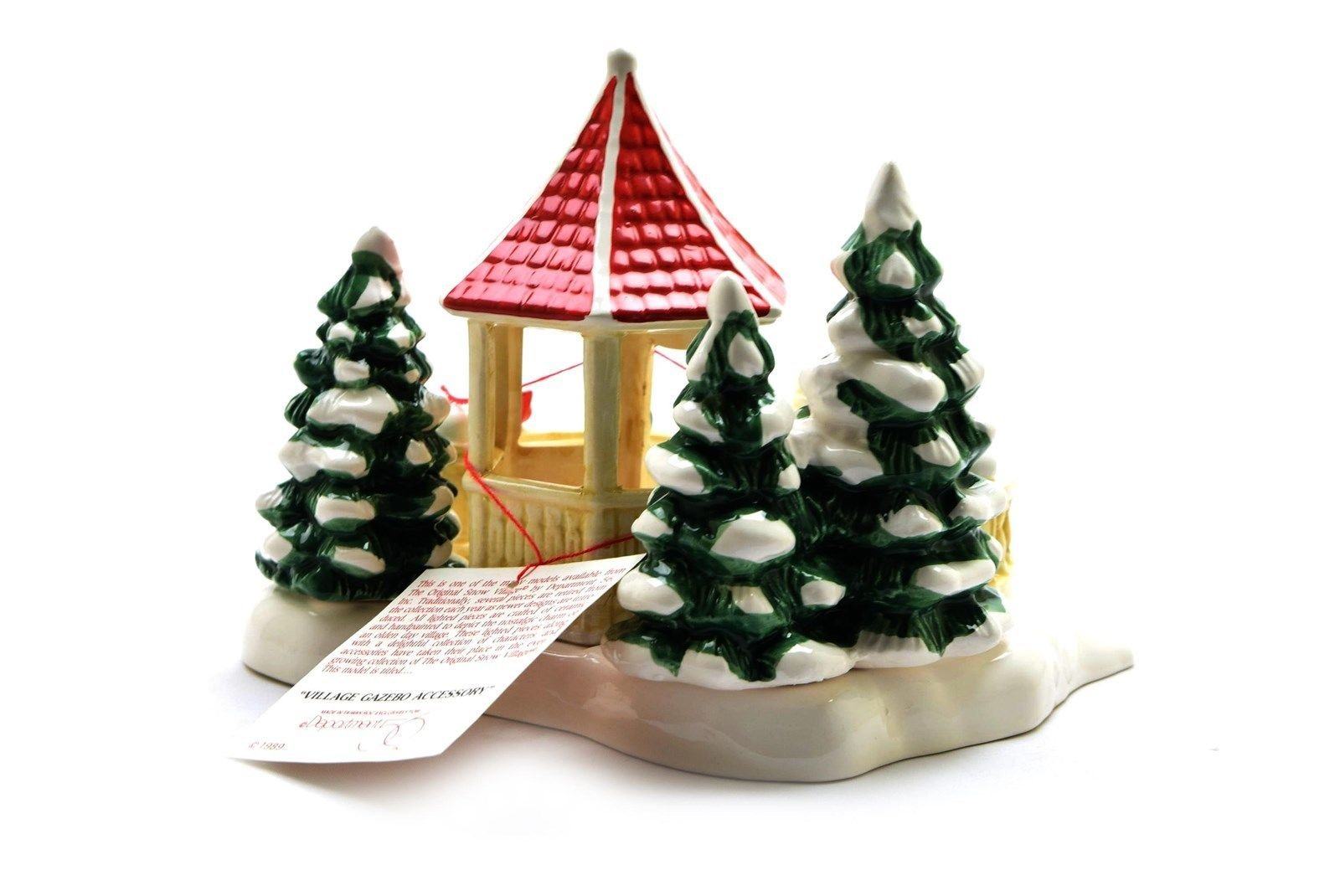 Department 56 Snow Village ''Village Gazebo'' #5146-2 - EUC by Department 56 Snow Village (Image #2)