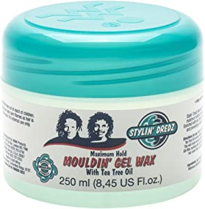 Other Stylin' Dredz Mouldin' Gel Wax with Tea Tree Oil - Maximum Hold - 250ml, [Importado de UK]