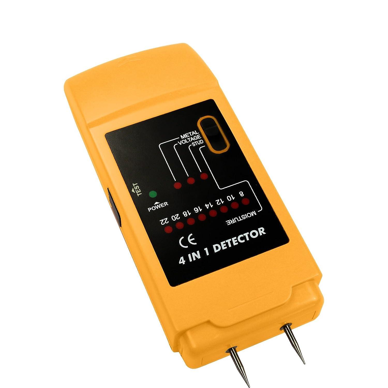 ALLOSUN 4 in 1 Stud Finder Metal Detector AC Voltage Moisture Detection - - Amazon.com