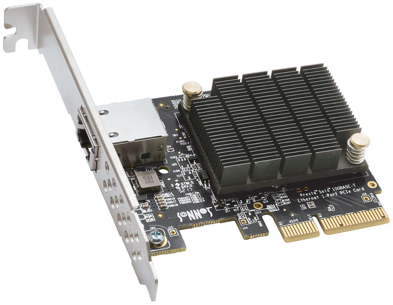 Sonnet Presto Solo 10GBASE-T Ethernet 1-Port PCIe Card [Thunderbolt compatible]