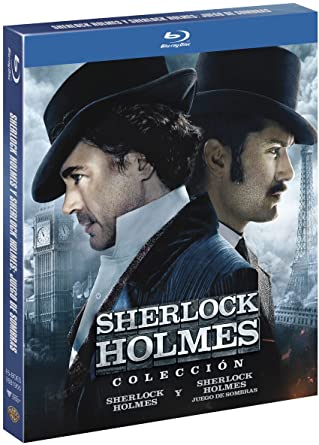 Pack Sherlock Holmes + Sherlock Holmes 2 Blu-Ray Blu-ray: Amazon.es: Robert Downey Jr., Jude Law, Rachel Mcadams, Mark Strong, Robert Maillet, Kelly Reilly, Eddie Marsan, Geraldine James, William Houston, Guy Ritchie, Robert