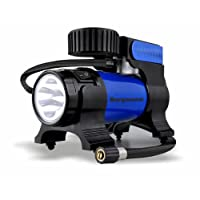 Bergmann Typhoon Car Tyre Inflator (Blue)