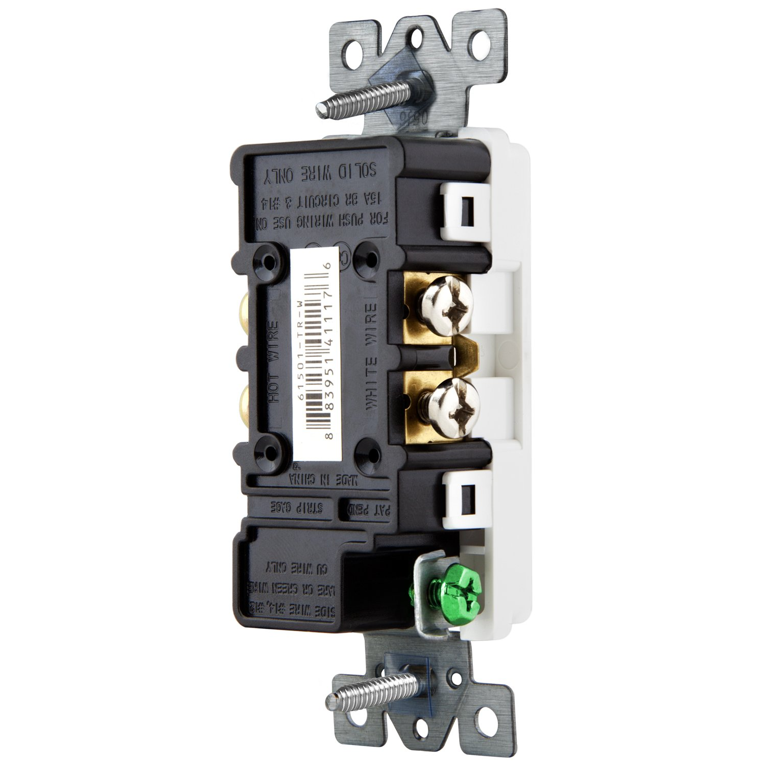 Enerlites Combination Switch And Outlet 68625 Commercial Wiring Receptacle Combo Residential Paddle With