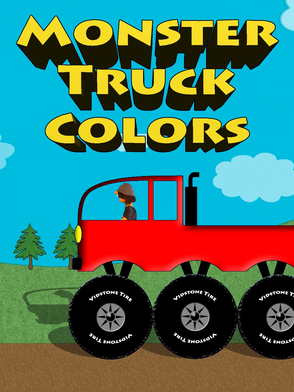 Watch Monster Truck Colors Colors For Kids Prime Video
