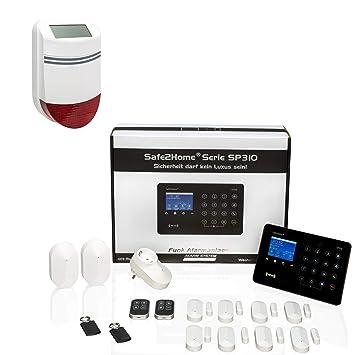 Safe2Home SP310 - Sistema de Alarma por Radio Profesional ...