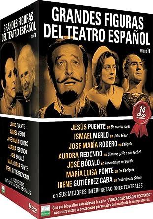 Pack Grandes Figuras del Teatro Español [DVD]: Amazon.es: Pedro Amalio Lopez: Cine y Series TV