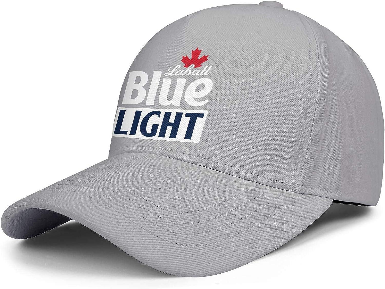 Hats Printed Cap Sports Caps CAEEKER Man Womens Beer-Labatt-Blue-Light
