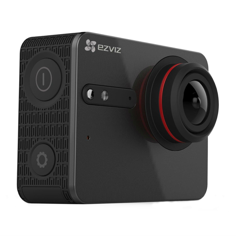 EZVIZ 5 PLUS Ultra HD 4K Video Wifi Sports Action Camera with Waterproof Touchscreen Case, Black