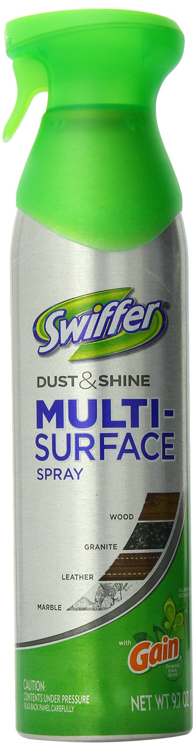 Swiffer Dust & Shine Multi Surface Spray, 9.7-Ounce