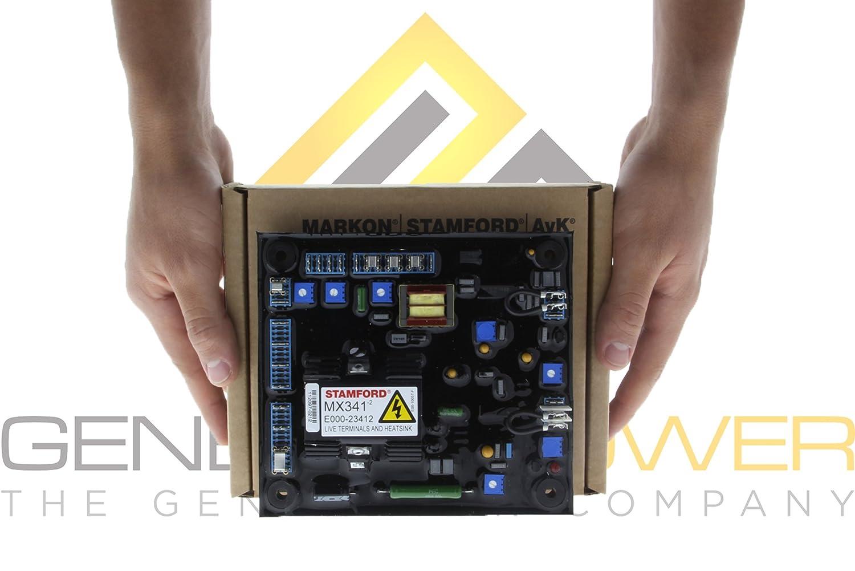 Stamford Mx341 Avr Pn E000 23412 1p 100 Original 1 Newage Alternator Wiring Diagram Year International Warranty Manufactured In The Uk Home Audio Theater