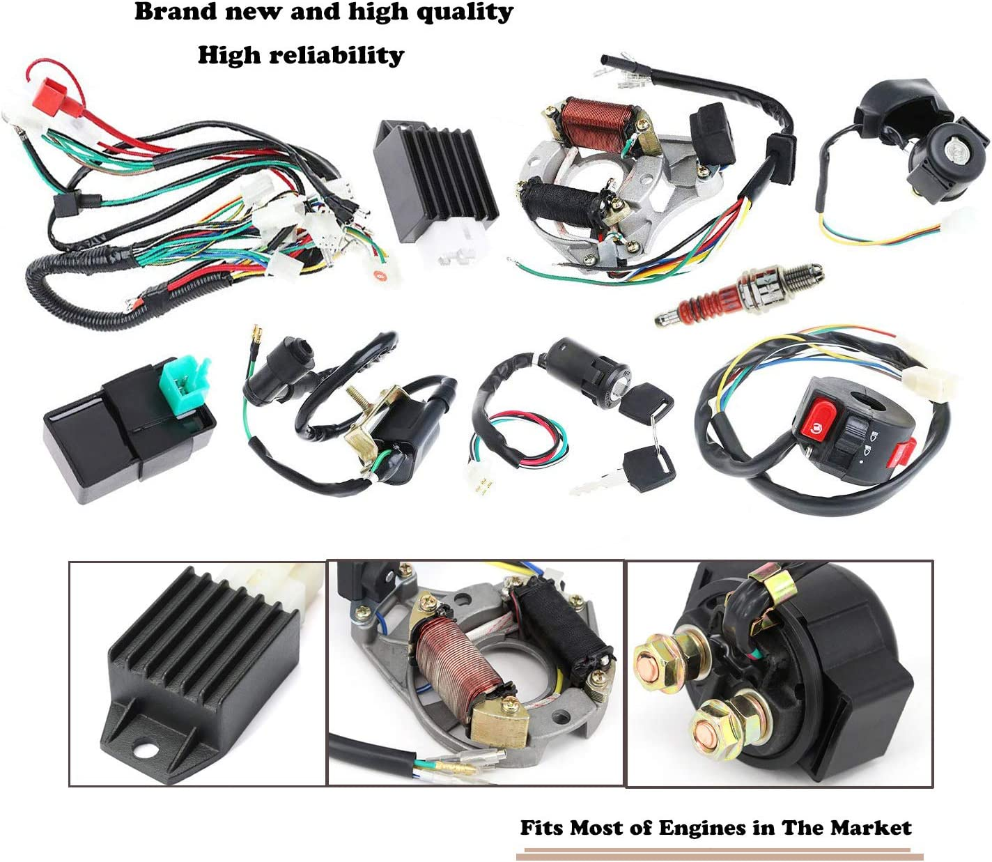 Electrical Wiring Harness Wiring Diagram Srv