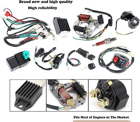 125cc 4 Stroke Atv Wiring Diagram   Wiring Diagram on
