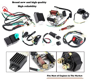 Stator Wiring Harness | Wiring Diagram on how does a magneto work diagram, magneto parts diagram, small engine magneto diagram, ignition diagram, craftsman riding mower electrical diagram, magneto distributor, magneto installation diagram, magneto ignition schematic,