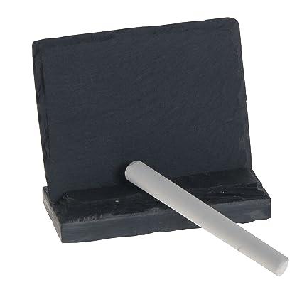 buy thirstystone mini menu name plate with chalk slate black online