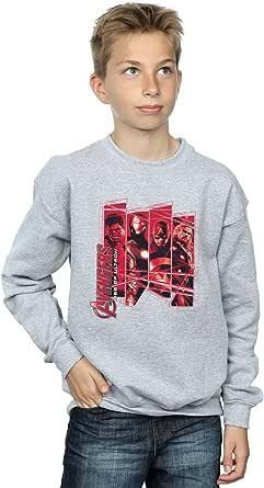 Marvel Jungen Avengers Team Collage Sweatshirt