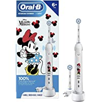 Oral-B Kids featuring Disney's Minnie Mouse Electric Toothbrush for Kids 6+