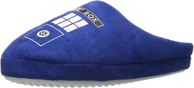 Doctor Who Official Tardis Slippers