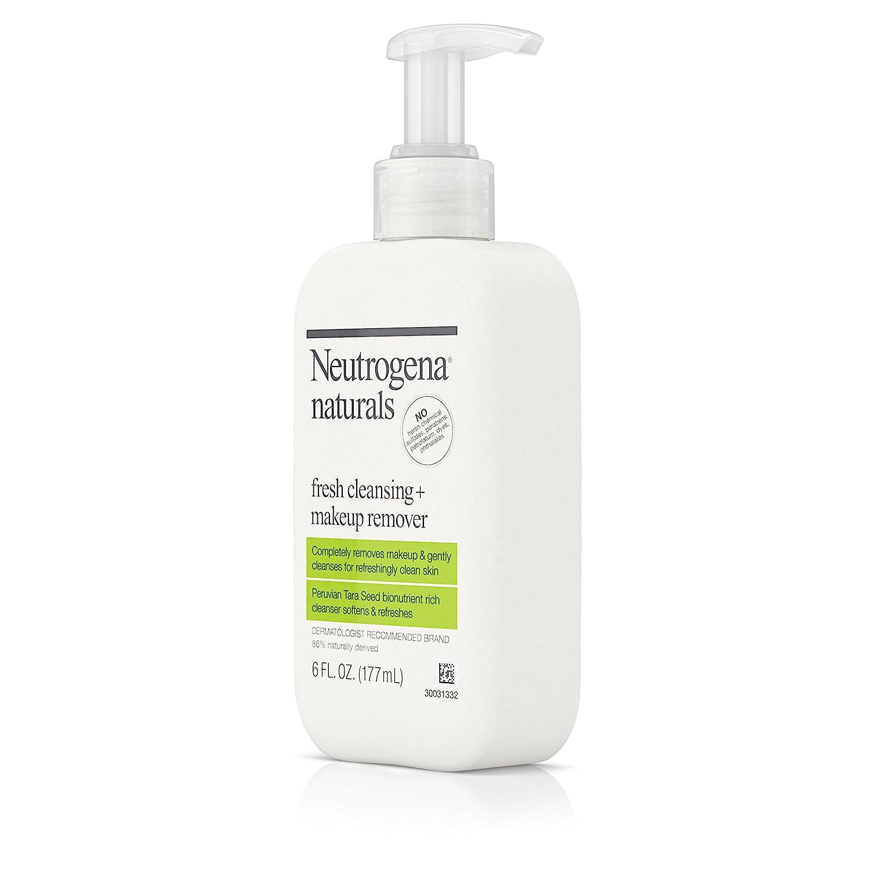 Neutrogena Naturals Fresh limpieza + maquillaje Remover, 6 oz (Pack de 2): Amazon.es: Belleza