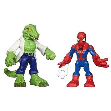 And Super Spider Lizard Marvel Hero Man Adventures Playskool Heroes SGqpzMVU