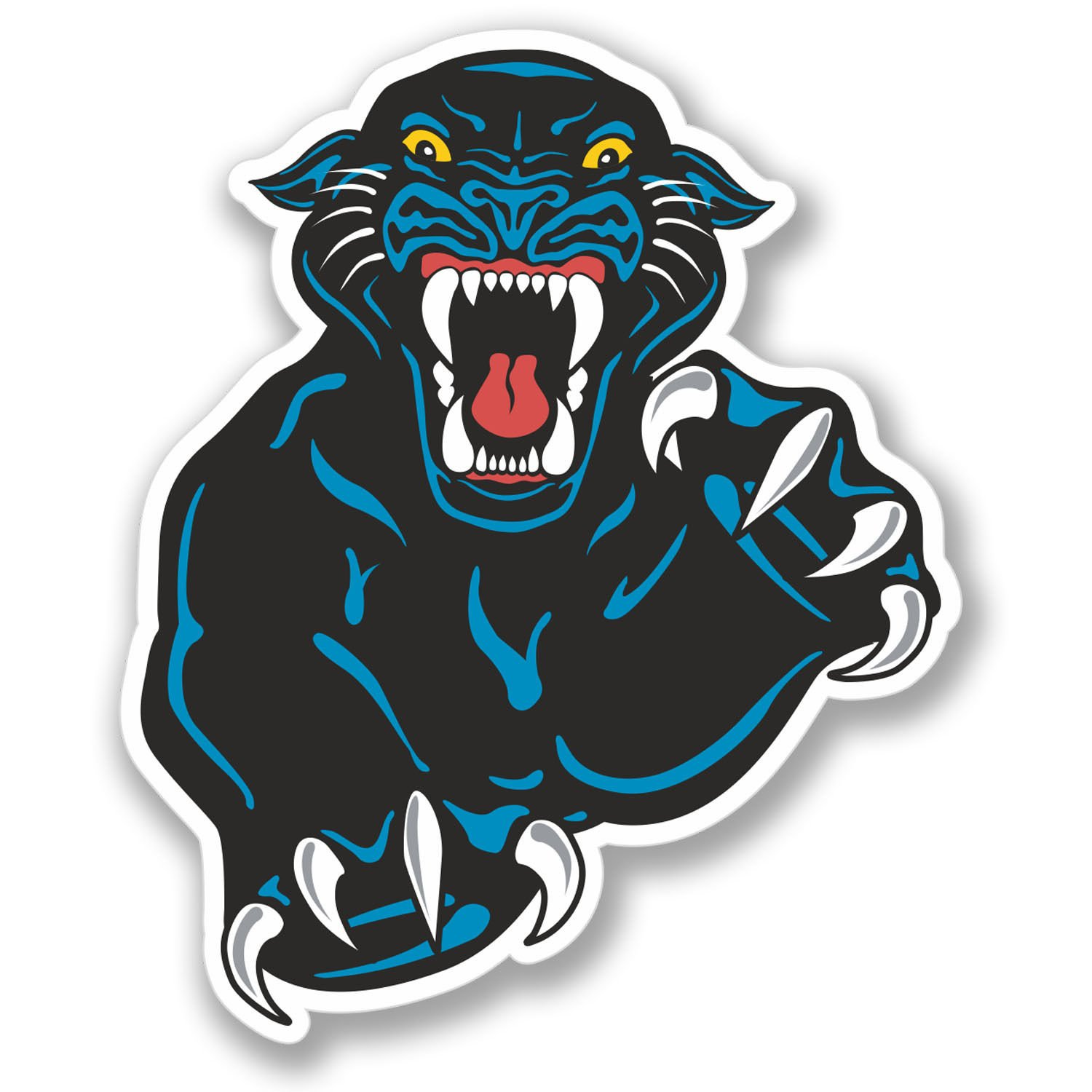 Amazon com 2 x black panther stickers everything else